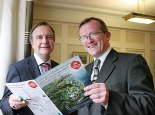 Minister Cullen and Niall Gibbons launch tourism initiative